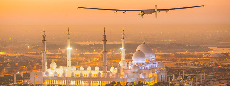 Around The World With No Fuel - The World's First Solar Flight Lands Safely This Week